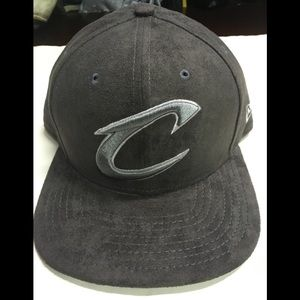 Gray suede Cleveland Cavaliers new era snapback